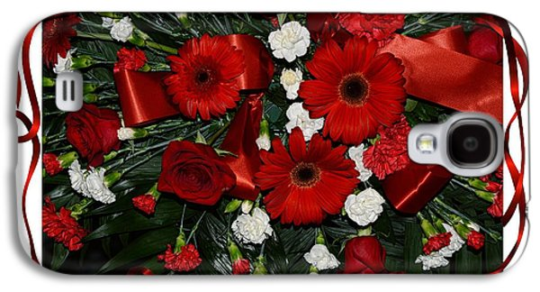 Christmas Bouquet  Galaxy S4 Case by Kathleen Struckle