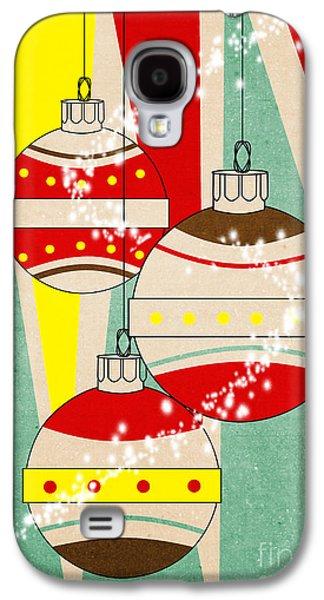 Christmas Card 6 Galaxy S4 Case by Mark Ashkenazi