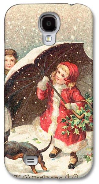 Christmas Card Galaxy S4 Case