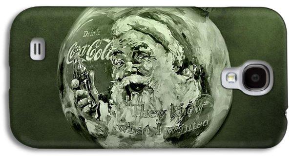 Christmas Coca Cola Galaxy S4 Case by Dan Sproul