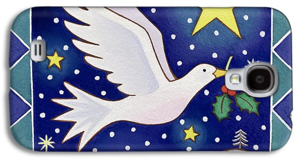 Christmas Dove  Galaxy S4 Case by Cathy Baxter