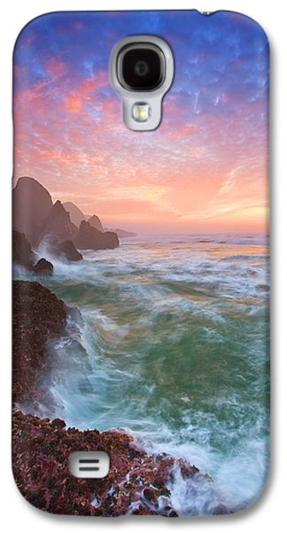 Christmas Eve Sunset Galaxy S4 Case