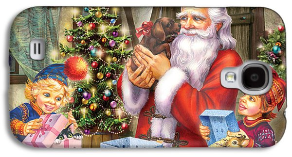 Christmas Eve Galaxy S4 Case