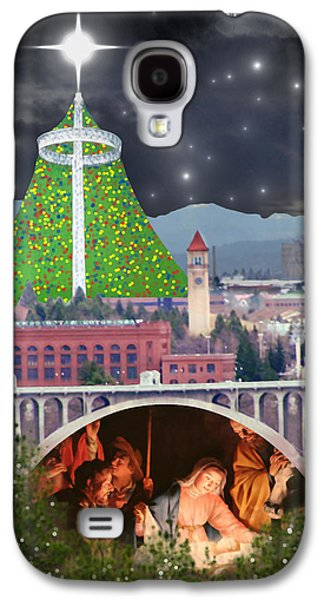 Christmas In Spokane Galaxy S4 Case