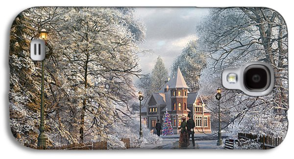 Christmas Invitation Galaxy S4 Case