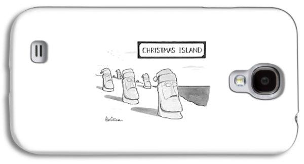 Christmas Island Galaxy S4 Case