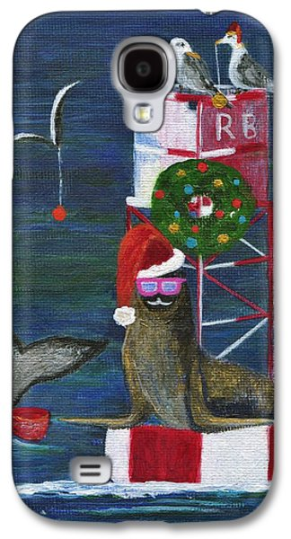 Christmas Seal And Friends Galaxy S4 Case