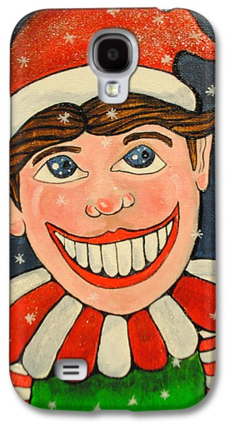 Christmas Tillie Galaxy S4 Case by Patricia Arroyo