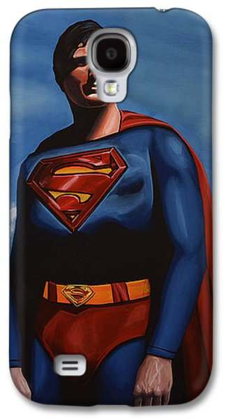 Christopher Reeve As Superman Galaxy S4 Case