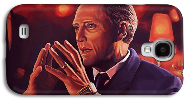 Christopher Walken Painting Galaxy S4 Case