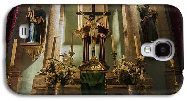 Church Altar Galaxy S4 Case by Aged Pixel