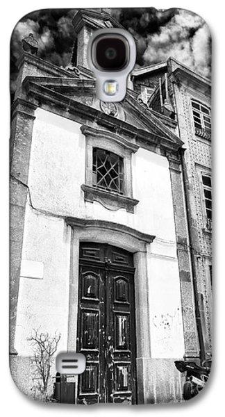 Church Door In Porto Galaxy S4 Case by John Rizzuto