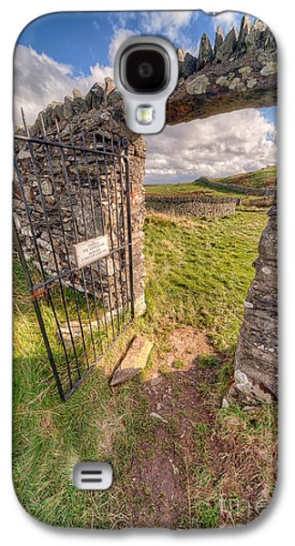 Church Gate Galaxy S4 Case by Adrian Evans