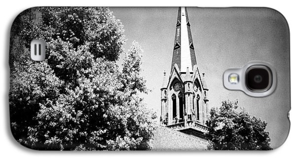 Church In Black And White Galaxy S4 Case