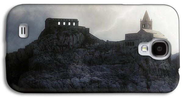 Church In Storm Galaxy S4 Case by Joana Kruse