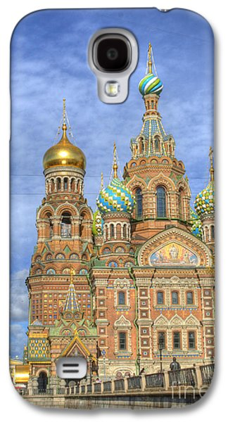Church Of The Saviour On Spilled Blood. St. Petersburg. Russia Galaxy S4 Case