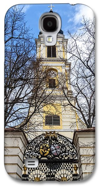Church Tower With Wrought Iron Gate  Grossweikersdorf Austria Galaxy S4 Case