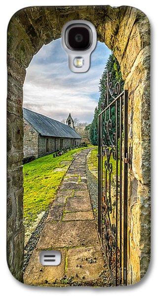 Church Way Galaxy S4 Case by Adrian Evans