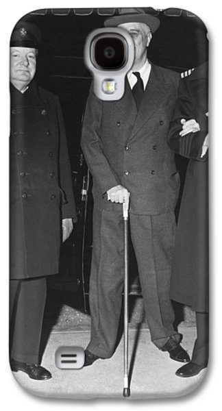 Churchill And Roosevelt Galaxy S4 Case by Underwood Archives