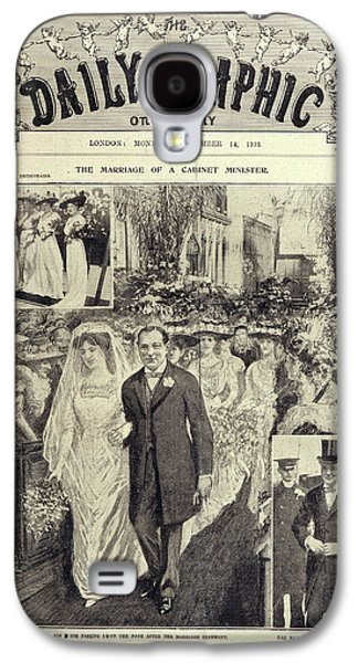 Churchill - Hozier Wedding Galaxy S4 Case by British Library