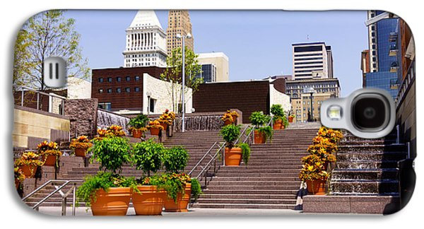 Cincinnati Downtown Central Business District Galaxy S4 Case by Paul Velgos