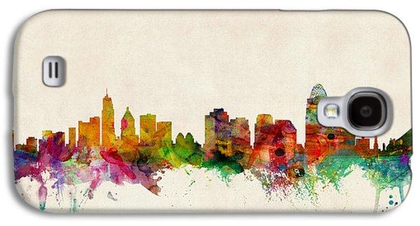 Cincinnati Ohio Skyline Galaxy S4 Case