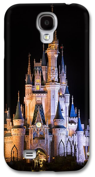 Cinderella's Castle In Magic Kingdom Galaxy S4 Case by Adam Romanowicz