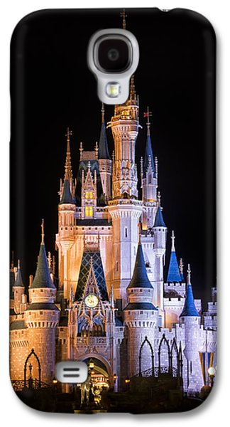 Cinderella's Castle In Magic Kingdom Galaxy S4 Case