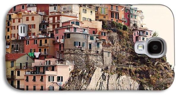 Cinque Terre Mediterranean Coastline Galaxy S4 Case by Kim Fearheiley