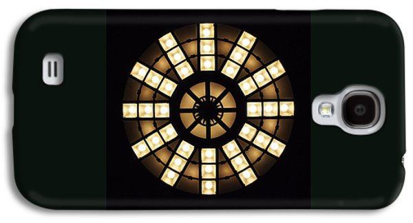Circle In A Square Galaxy S4 Case by Rona Black
