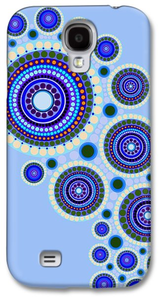 Circle Motif 117 Galaxy S4 Case by John F Metcalf