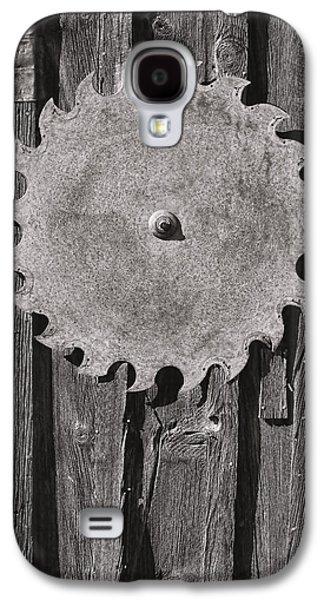 Circular Galaxy S4 Case by Kelley King