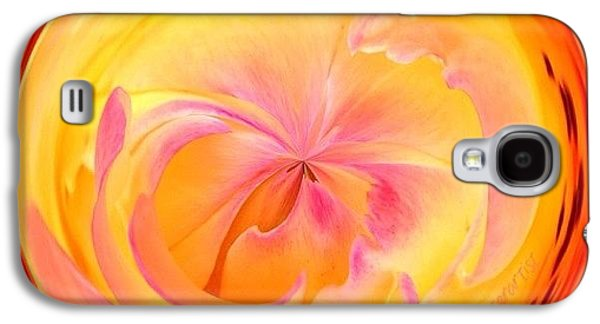 Edit Galaxy S4 Case - Circumspect Rose by Anna Porter