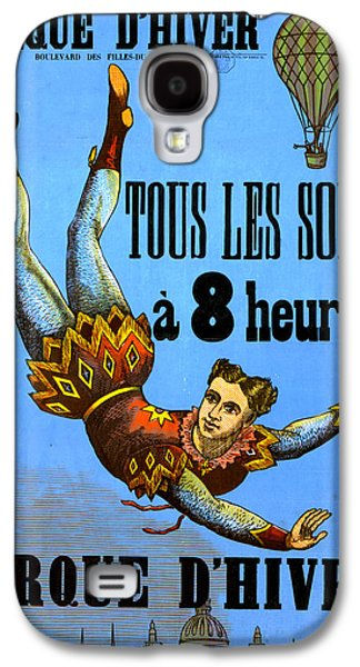 Cirque Dehiver - Circus Diver Galaxy S4 Case by Lesa Fine