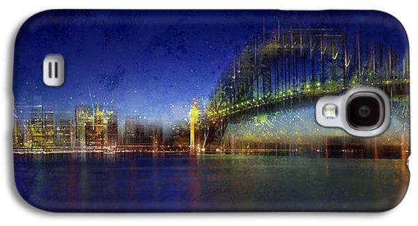 City-art Sydney Galaxy S4 Case by Melanie Viola