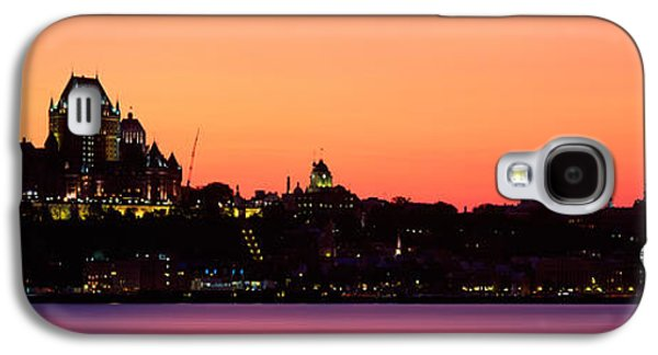 City At Dusk, Chateau Frontenac Hotel Galaxy S4 Case