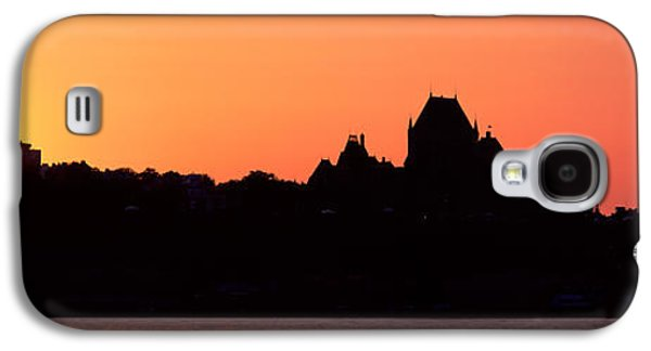 City At Sunset, Chateau Frontenac Galaxy S4 Case