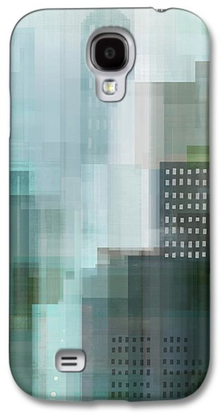 City Scenes Galaxy S4 Case - City Emerald by Dan Meneely