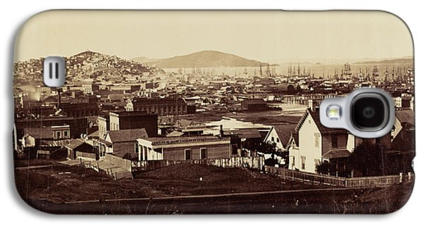 City Front From Rincon Hill In 1860 Carleton Watkins Galaxy S4 Case