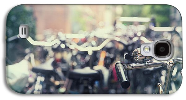 Bicycle Galaxy S4 Case - City Of Bikes by Jane Rix