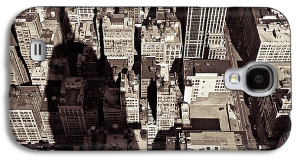 City Shadow Galaxy S4 Case by Dave Bowman