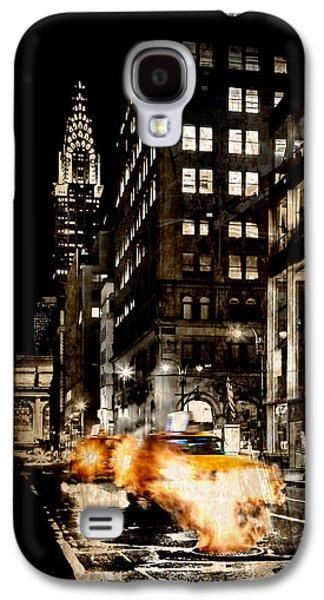 City Streets  Galaxy S4 Case by Az Jackson