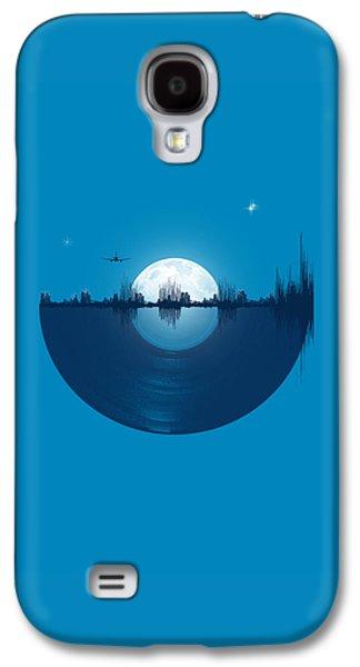 City Scenes Galaxy S4 Case - City Tunes by Neelanjana  Bandyopadhyay
