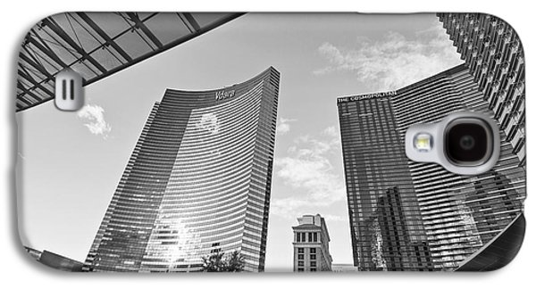 Citycenter - View Of The Vdara Hotel And Spa Located In Citycenter In Las Vegas  Galaxy S4 Case