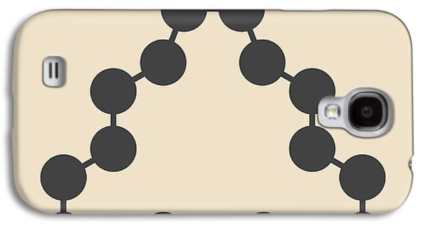 Civetone Civet Cat Pheromone Molecule Galaxy S4 Case