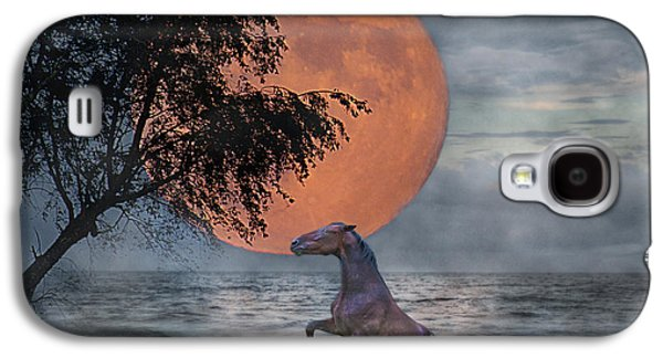 Claiming The Moon Galaxy S4 Case