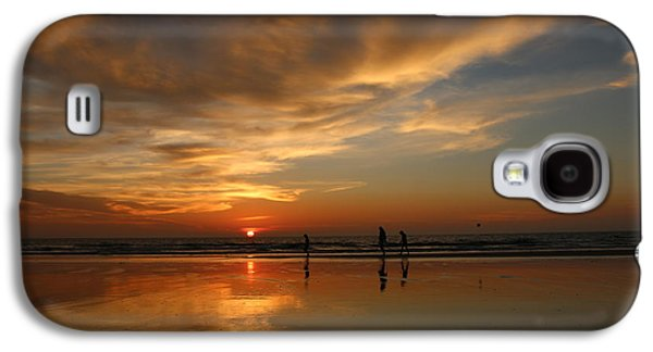 Clam Digging At Sunset -1  Galaxy S4 Case