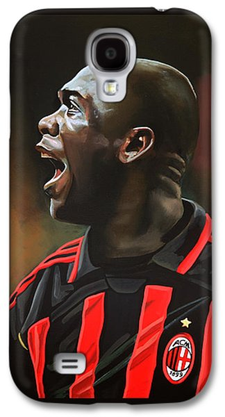 Clarence Seedorf Galaxy S4 Case by Paul Meijering
