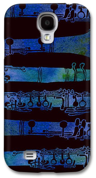 Clarinet Keys Galaxy S4 Case