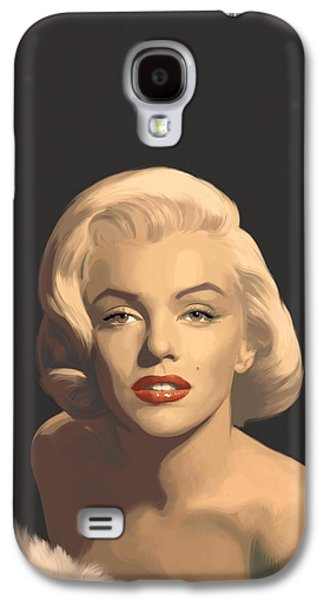 Classic Beauty In Graphic Gray Galaxy S4 Case